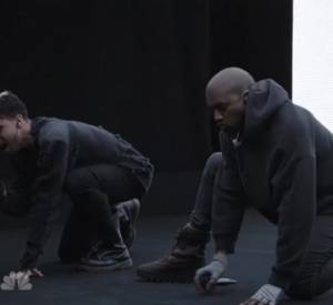 "Kanye West aux 40 ans du ""Saturday Night Live""."