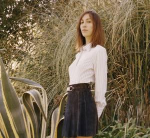 Gia Coppola pose pour la campagne Rodarte x Superga.
