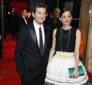 Le couple le plus glamour de la soirée : Marion Cotillard et Guillaume Canet. L'actrice portait une robe Christian Dior.