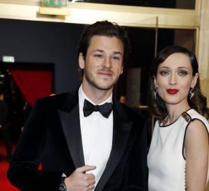 Le beau Gaspard Ulliel et sa compagne. Egérie du parfum Bleu de Chanel, l'acteur portait une montre Chanel horlogerie.