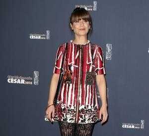 Marina Foïs était habillée par Louis Vuitton pour la cérémonie des César.