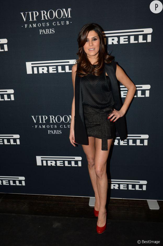 Karine Ferri signe une opération séduction réussie chez Pirelli !