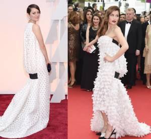 Marion Cotillard vs Laetitia Casta : la robe bouffante Dior