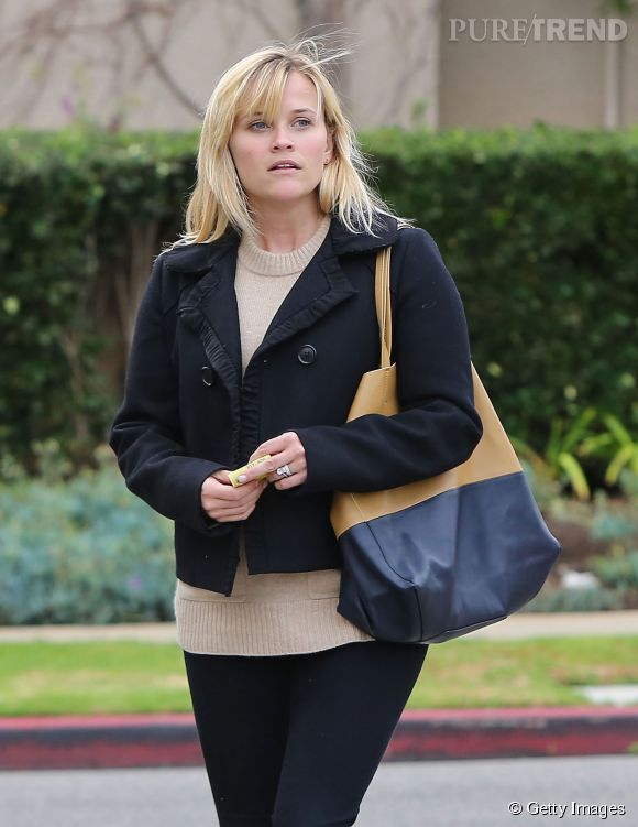 Reese Witherspoon radieuse même sans make up.