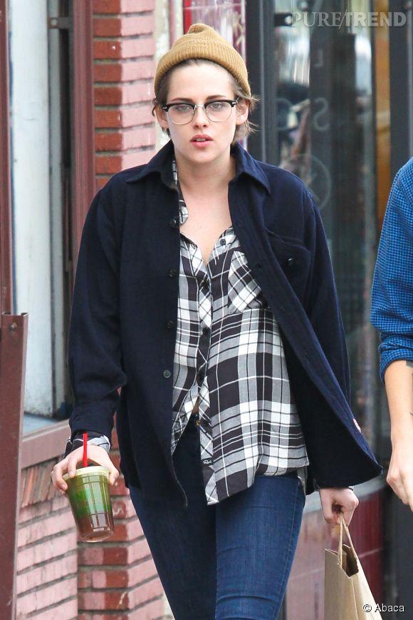 Kristen Stewart ne se maquille que pour fouler le red carpet.