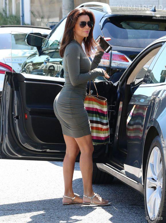 """Eva Longoria a désormais des courbes alors que dans """"Desperate Housewives"""", elle était très très menu !"""