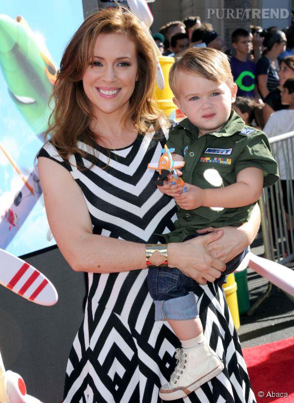 Alyssa Milano est maman de deux enfants.