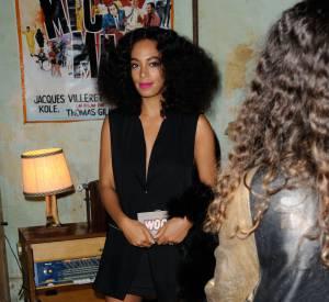Solange Knowles, sublime égérie d'Eleven Paris, fait mouche à l'évènement organisé par la marque.