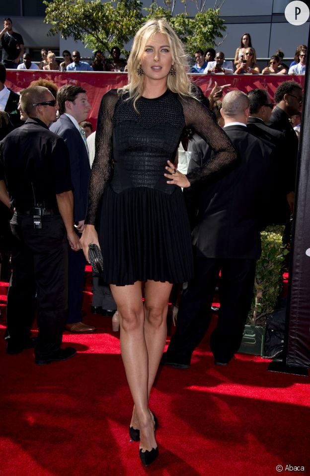 Maria Sharapova possède tous les atouts d'une mannequin Victoria's Secret, mais son dada à elle c'est le tennis.