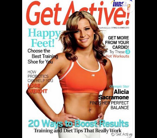 Aujourd'hui, Alicia Sacramone est mariée et prodigue ses conseils minceur à la une des magazines.