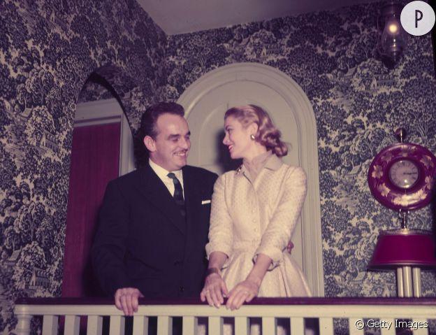 Grace Kelly et le prince Rainier de Monaco