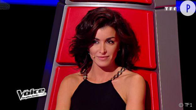 Jenifer toujours aussi belle dans son rôle de juré pour The Voice sur TF1.