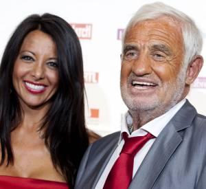 Jean-Paul Belmondo et Barbara Gandolfi, sa dernière compagne, mannequin de son état, dont l'idylle s'est terminée en 2012.