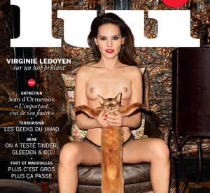 Virginie Ledoyen : seins nus pour une nouvelle cover sulfureuse de Lui
