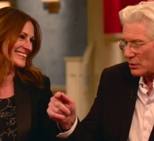"Julia Robert et Richard Gere sur le plateau de ""Today Show"" sur NBC."
