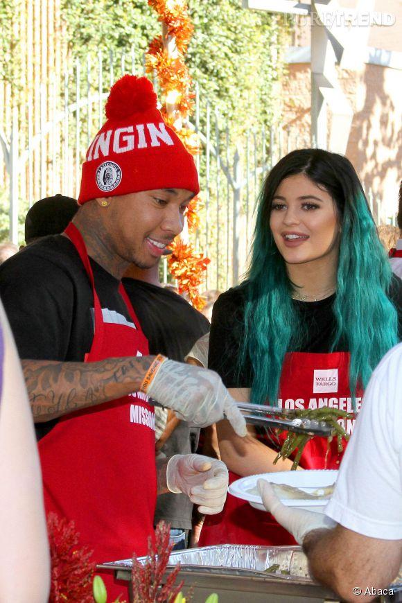 Kylie Jenner et Tyga en novembre dernier à Los Angeles.