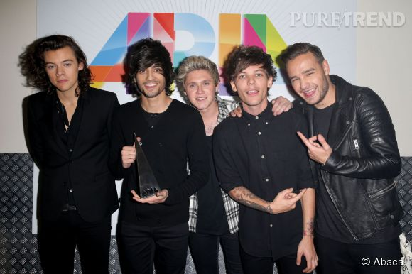 Harry Styles, Zayn Malik, Niall Horan, Louis Tomlinson et Liam Payne formaient les One Direction.