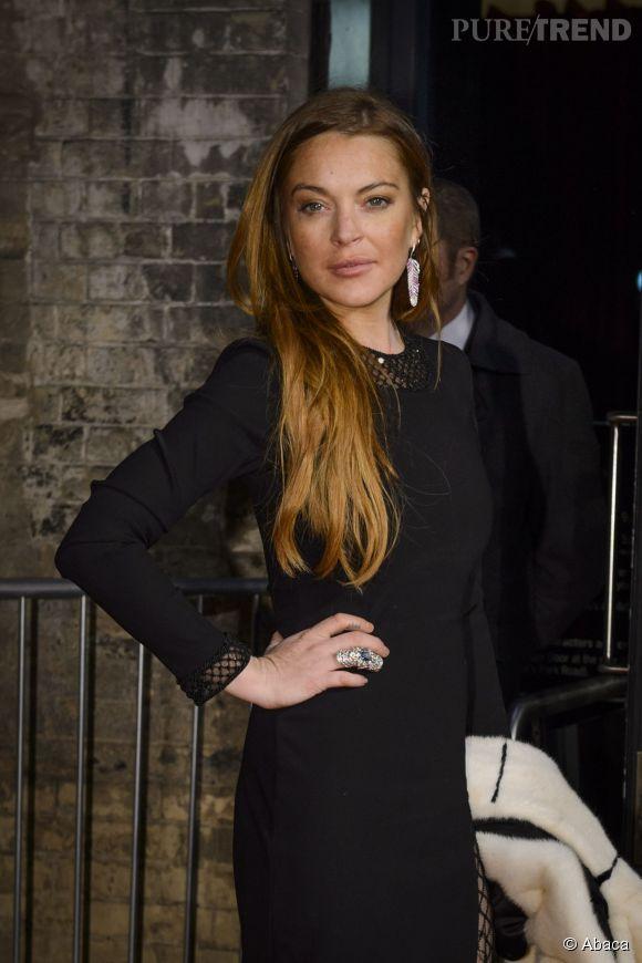 Lindsay Lohan n'a pas froid aux yeux sur Instagram.