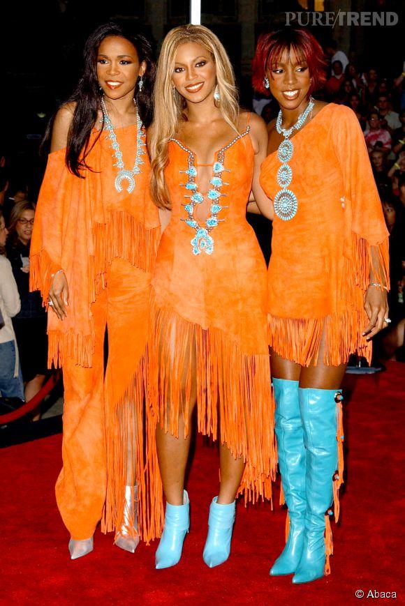 Pour admirer les Destiny's Child en 2001, il fallait mettre des lunettes de soleil.