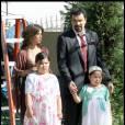 """Madison De La Garza sur le tournage de """"Desperate Housewives"""" en 2009."""