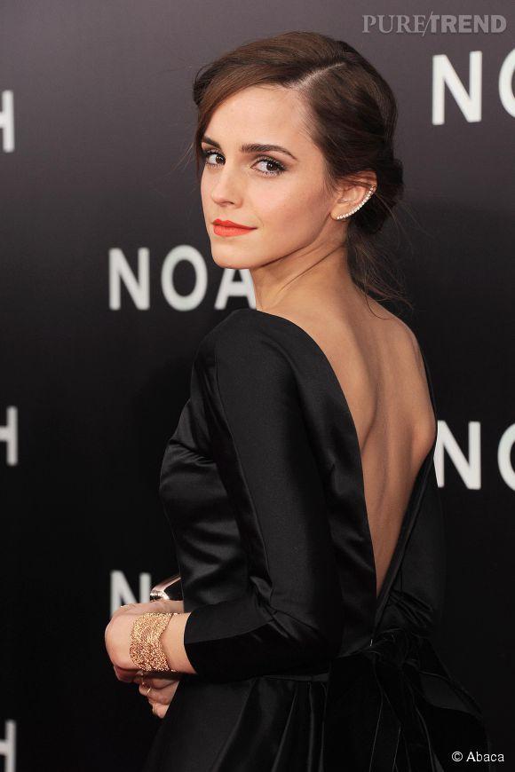 """Emma Watson élue """"femme la plus remarquable de l'année"""" par le magazine Askmen."""