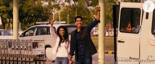 """Dev Patel, Tina Desae dans """"Indian Palace - Suite royale""""."""