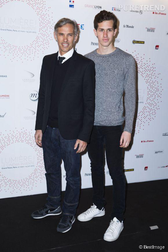 Paul et Victor Belmondo, duo père fils complice.