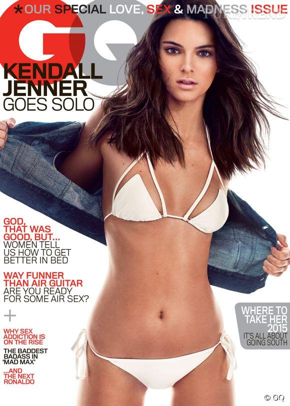 Kendall Jenner en une de GQ du mois de mai 2015.