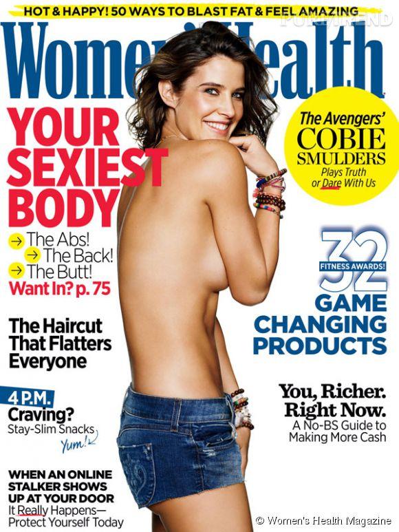 Cobie Smulders radieuse à la une de Women's Health Magazine.