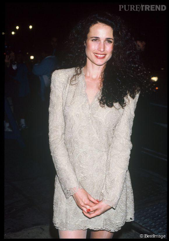 Andie MacDowell, un sex-symbol des années 80-90.