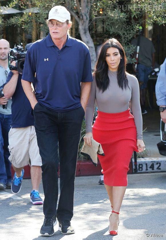Kim Kardashian a confié qu'elle ne pourrait sûrement jamais comprendre tout à fait ce que Bruce Jenner vit.