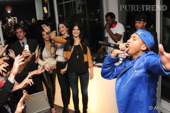 Kylie Jenner lors du Sweet Sixteen de Kendall avec Tyga en guest star.