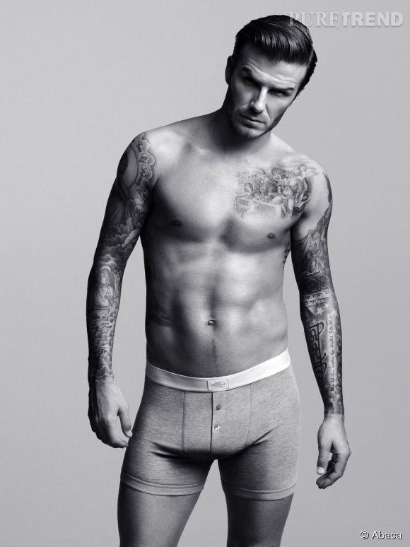 David Beckham, le sexy boy d'H&M