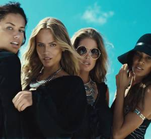 Joan Smalls, Natasha Poly, Doutzen Kroes, Adriana Lima : James Bond Girls d'H&M
