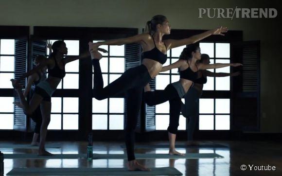 """Ambiance """"zen"""" pour Doutzen Kroes dans la campagne de l'Eté 2015 d'H&M."""