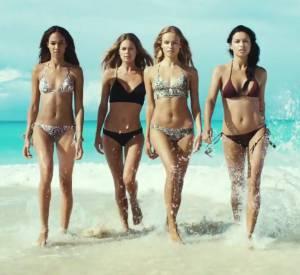 Joan Smalls, Natasha Poly, Doutzen Kroes et Adriana Lima pour H&M.