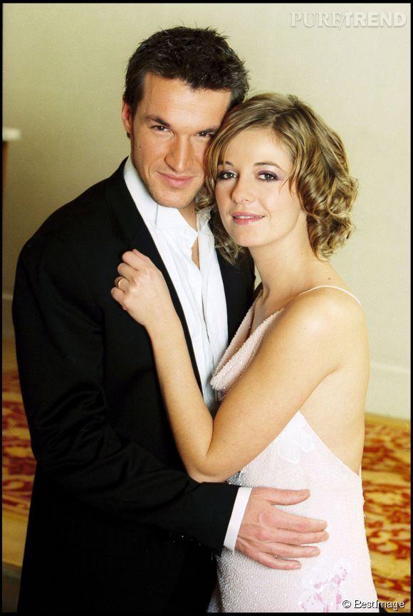 Benjamin Castaldi et Flavie Flament se sont mariés en 2002 et ont divorcé en 2008.