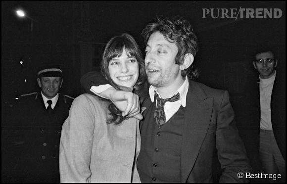 Jane Birkin et Serge Gainsbourg (ici en 1972), une histoire d'amour pas comme les autres.