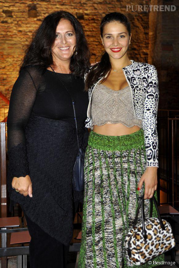 Margherita Missoni et sa mère Angela Missoni.