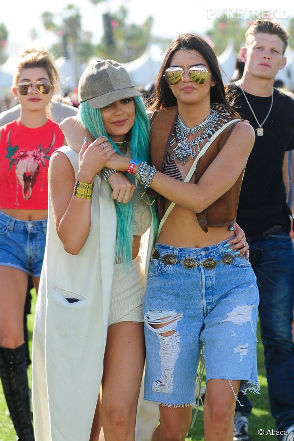 Kylie et Kendall Jenner toujours aussi inséparables.