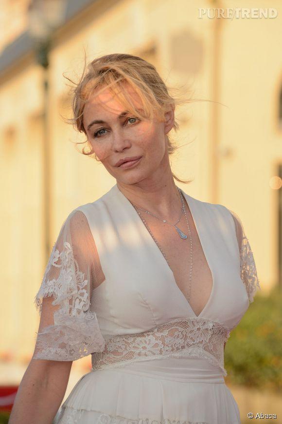Emmanuelle Béart est prête pour le Festival de Cannes édition 2015.