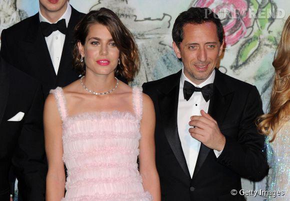 La première apparition officielle de Charlotte Casiraghi et Gad Elmaleh en 2013 au Bal de la Rose de Monaco.