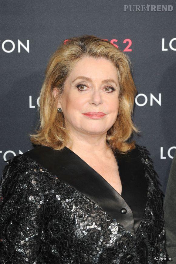 Catherine Deneuve confie au magazine Paris Match, s'inquièter de la suite de sa carrière d'actrice.