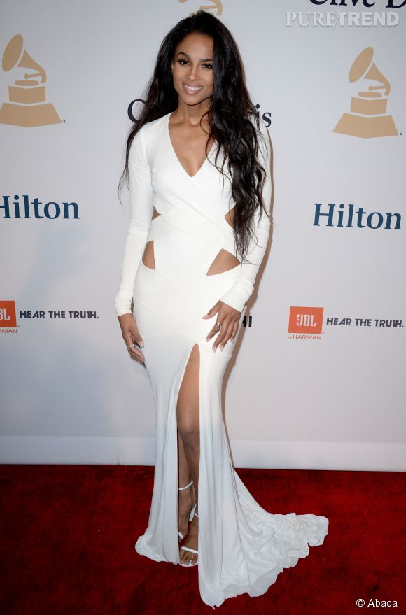 Ciara, c'est la chanteuse sexy qu'on imagine mal rater un lap dance.