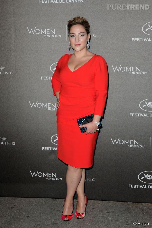 """Marilou Berry à la soirée des """"Women in motion"""" ce dimanche 17 mai 2015, à Cannes."""