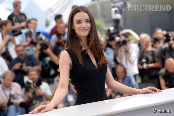 """Charlotte Le Bon est à Cannes pour présenter le film d'animation """"Vice versa"""", ce lundi 18 mai 2015."""