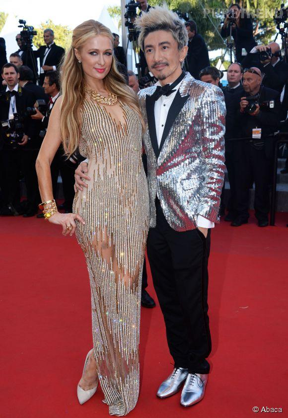Paris Hilton a aussi fait le show en cette sixième montée des marches de ce Cannes 2015 dans une robe qui jouait de transparence.