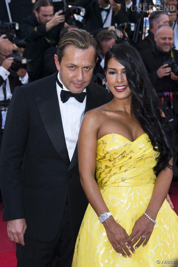 Ayem Nour, inratable dans une robe meringue jaune et bien accompagné visiblement...