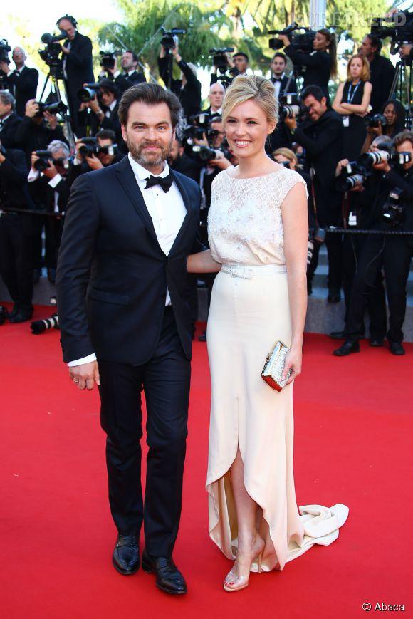 La femme de Clovis Cornillac, Lilou Fogli était éblouissante dans une robe  Alexis Mabille Haute Couture.