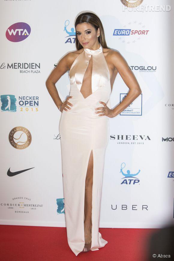 Eva Longoria a fêter cet anniversaire entouré des autres égéries.